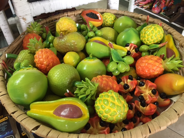 Ceramic Tropical Fruit - $300 - $600 ea. Craft Cottage