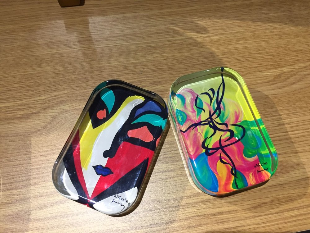 Painted Paperweights - $2400 ea My Jamaica