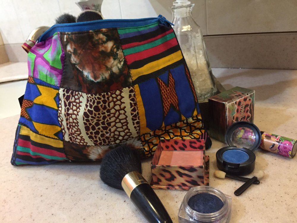African Print Makeup Bag/Purse - $2100 ea My Jamaica