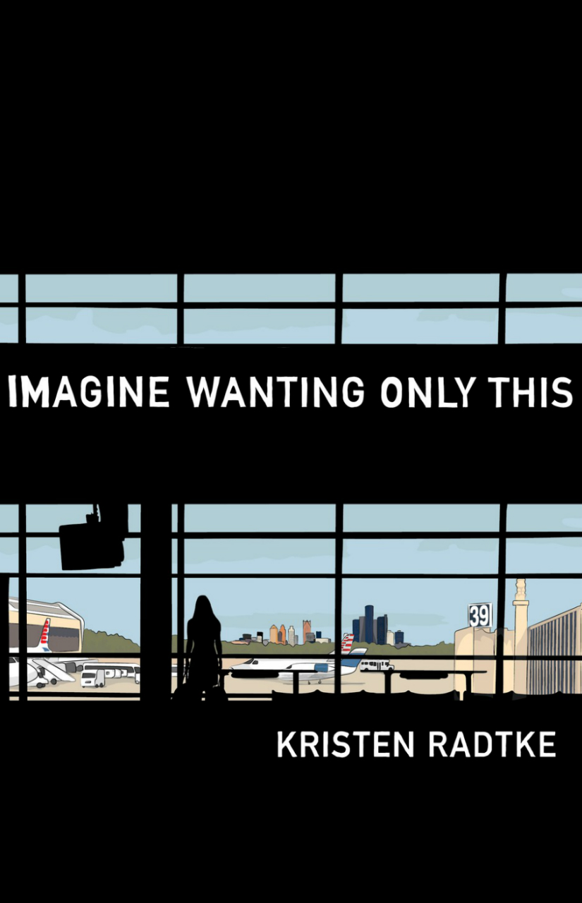 """Kristen Radtke has caught the attention of the right kinds of people with her debut graphic novel,Imagine Only Wanting This. Places that have been abandoned by memory and the people who once called them home fascinate Radtke, who travels from the Midwest to Iceland to the Philippines to New York City in this cross-genre nonfiction work. It's worlds more than a travelogue, though — it's also a journey through grief, memory, and family. If the fact that it's illustrated turns you off, resist: Radtke's grayscale art, combined with her MFA in nonfiction from the University of Iowa's Nonfiction Writing Program, makes Imagine Always Wanting This """"a fantastic example of the graphic novel's possibilities as a literary medium,"""" according to Library Journal."""