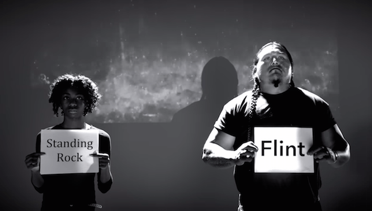 Standing Rock and Flint