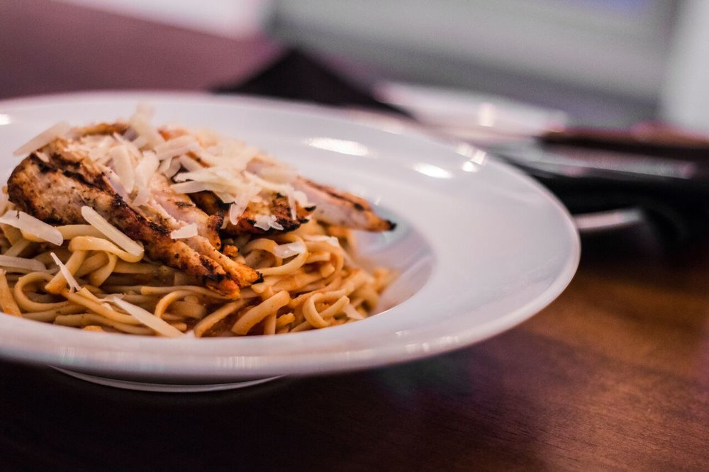 GRILLED CHICKEN PASTA: $1400