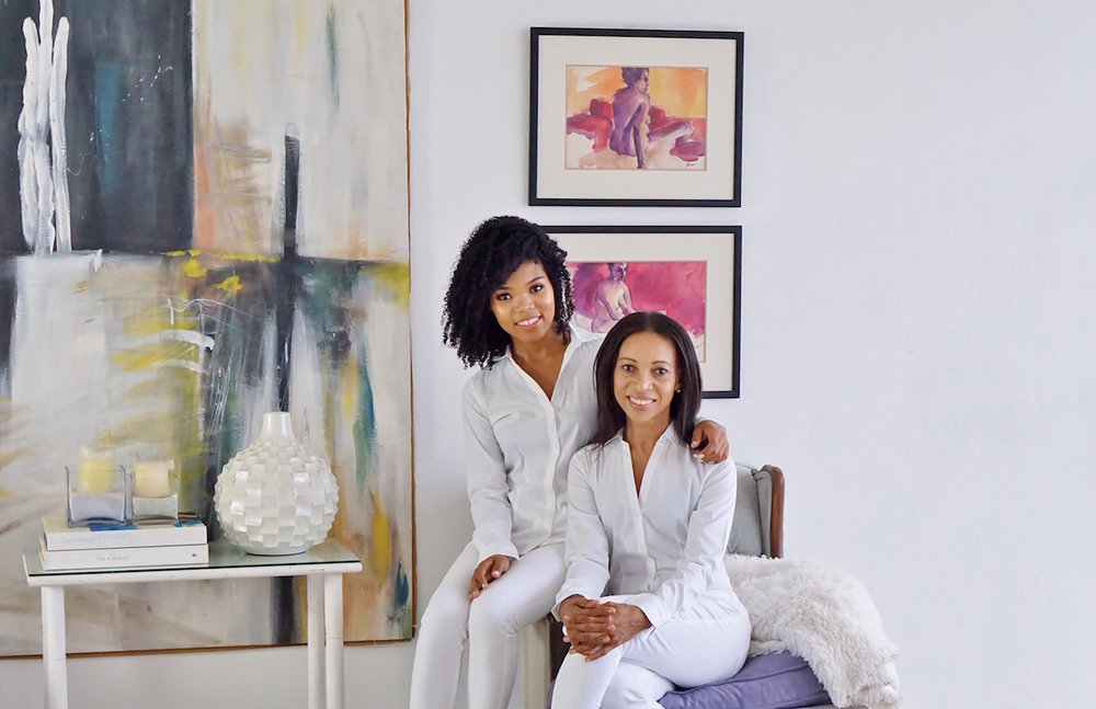 Inside Joan Lee and Natasha Lee-Duhaney'sBeach-Luxe Montego Bay Home. - Joan is an Interior Designer, Natasha is a Lifestyle blogger and both are Realtors at RE/MAX Elite.