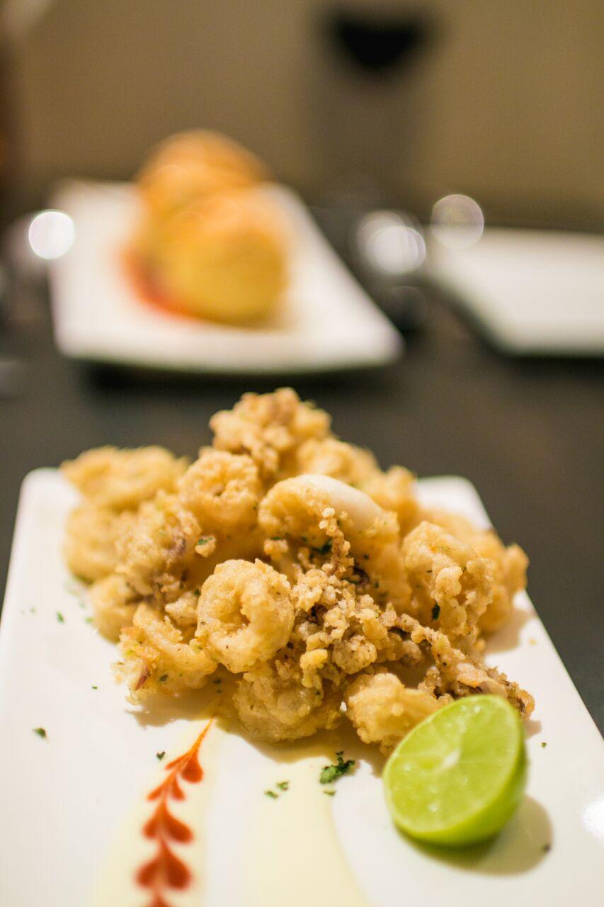 Sicilian Grilled Calamari