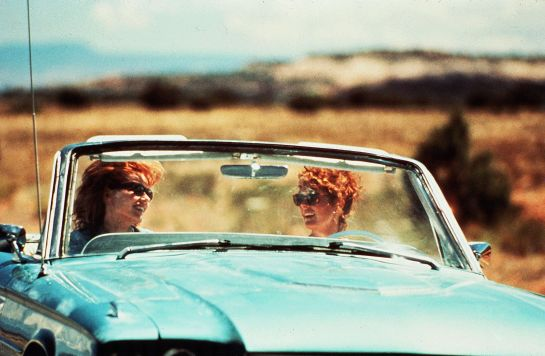 THELMA AND LOUISE - Let these heroines remind you who the most important relationship in your life is: your best friend.