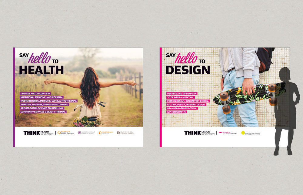 Think-Education-Graphic Design-Expo-Banners