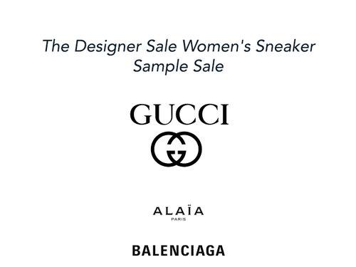 36aeeeb734 Runway Muse Women s Designer Sneaker Sample Sale