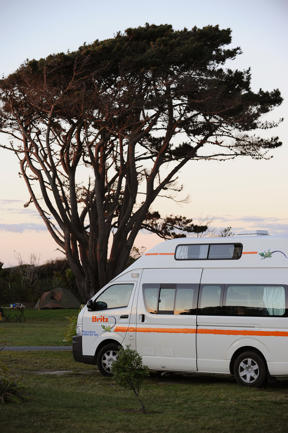 Campervan Uudessa-Seelannissa