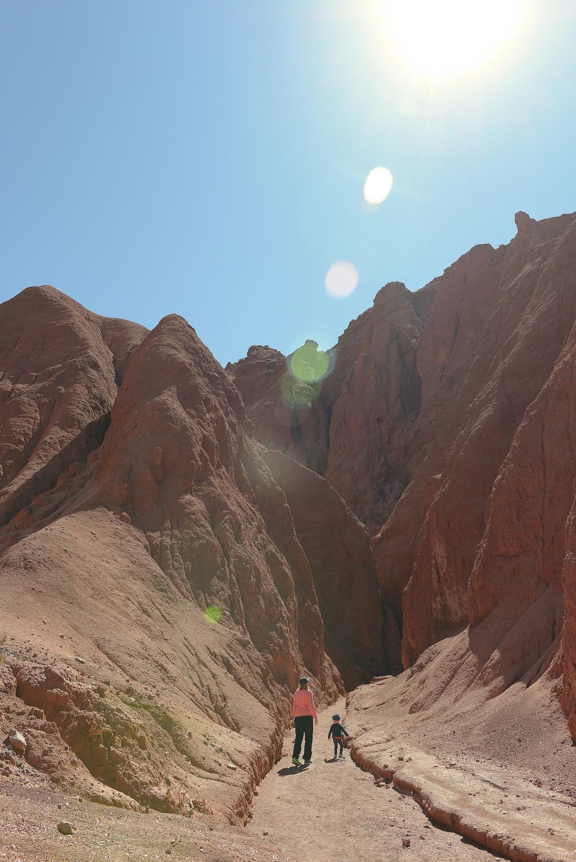 Chile, San Pedro de Atacama, Valle del Arcoiris