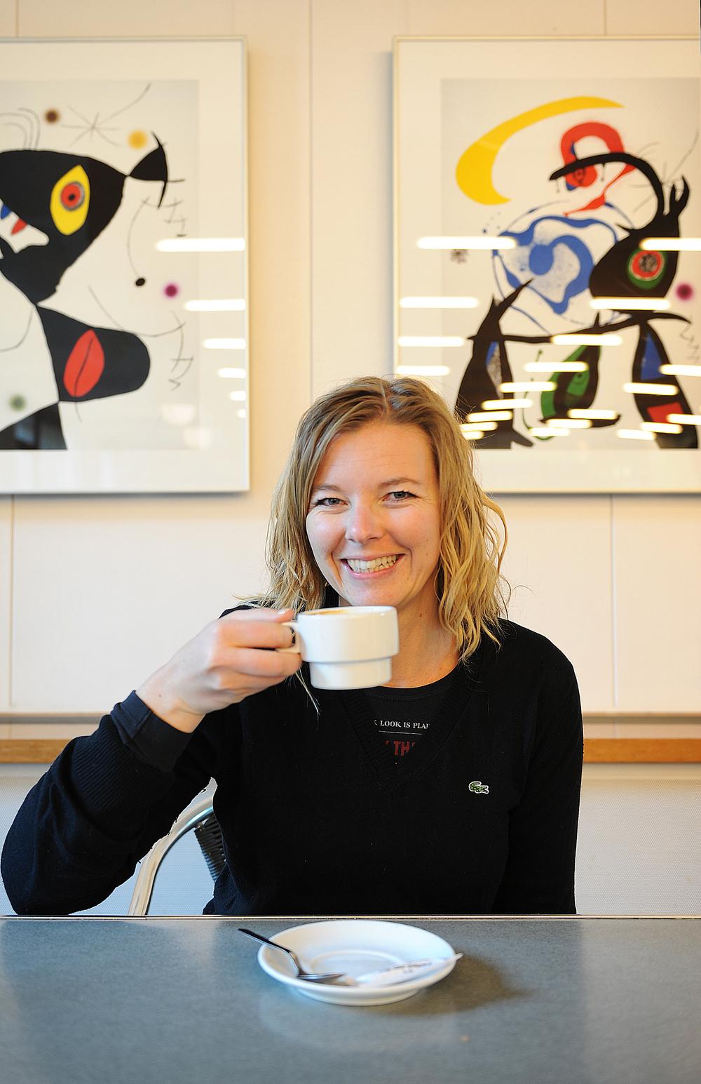 Mira Jalomies kahvit