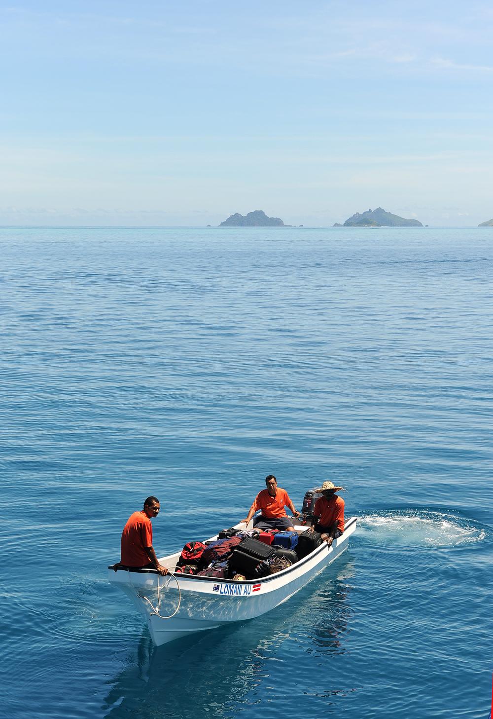 Vene, Fidzi, sininen meri, matkablogi