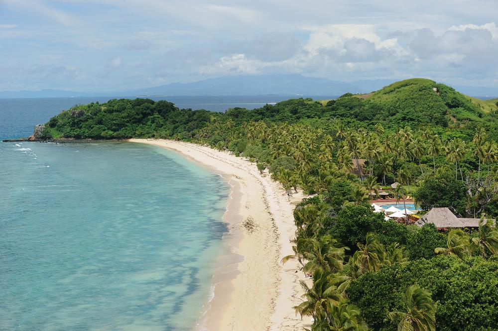 Saari, ranta, Fidzi, Fiji, matkablogi
