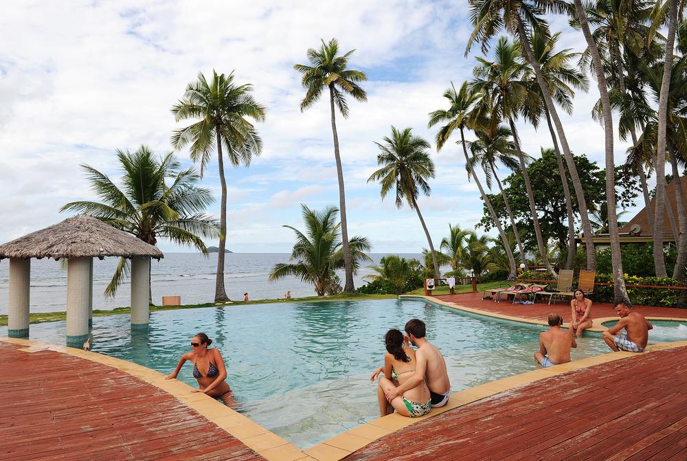 Uima-allas, Fidzi, unelmaloma, saari, matkablogi