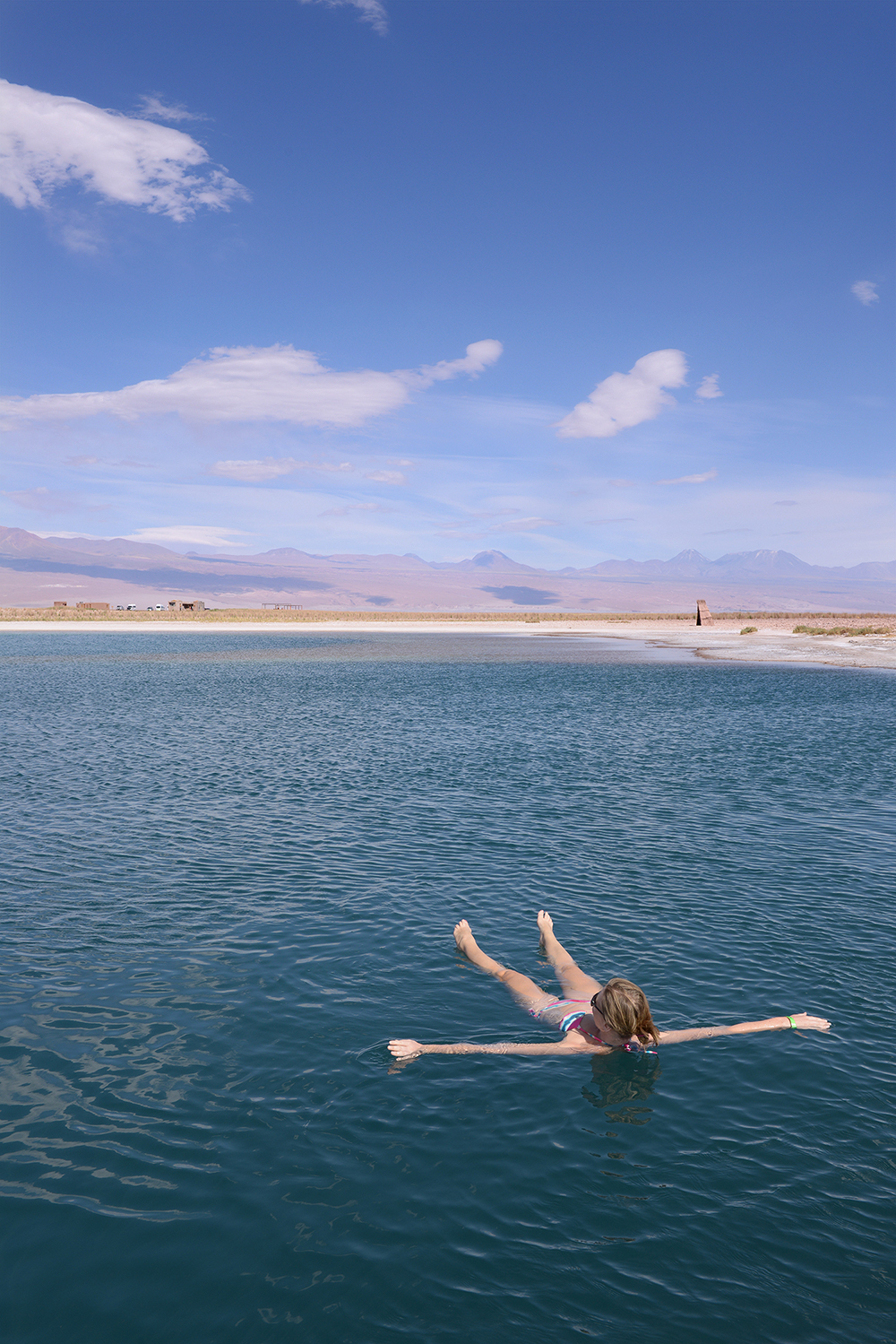 Atacama, Chile, matkablogi, uida, matka, suolajärvi