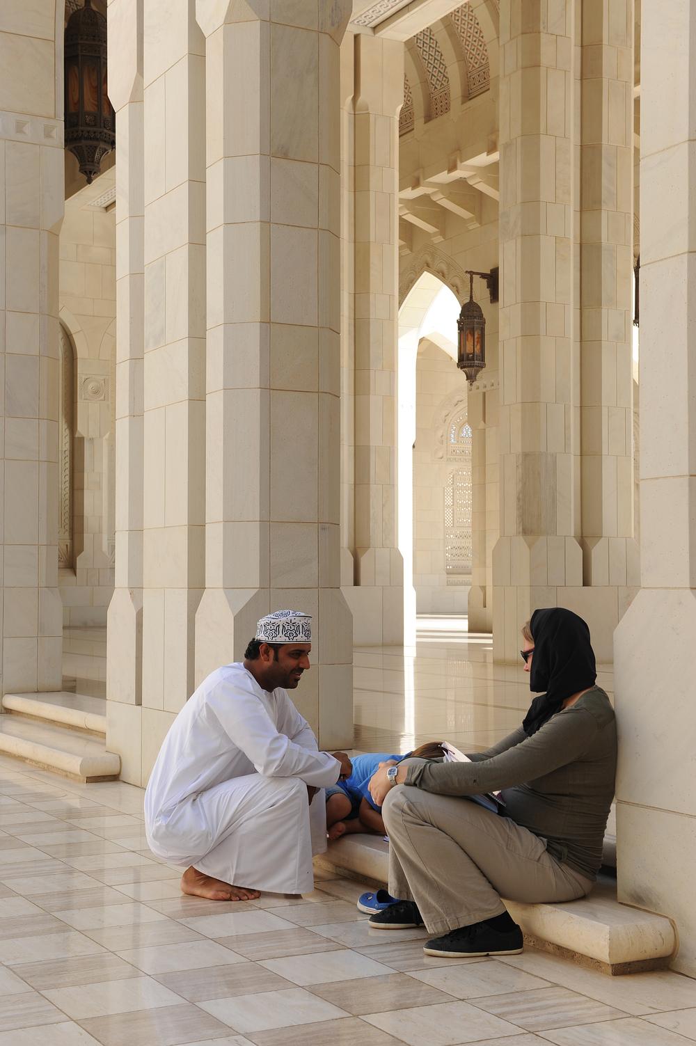 Moskeija, Oman, matkablogi, blogi