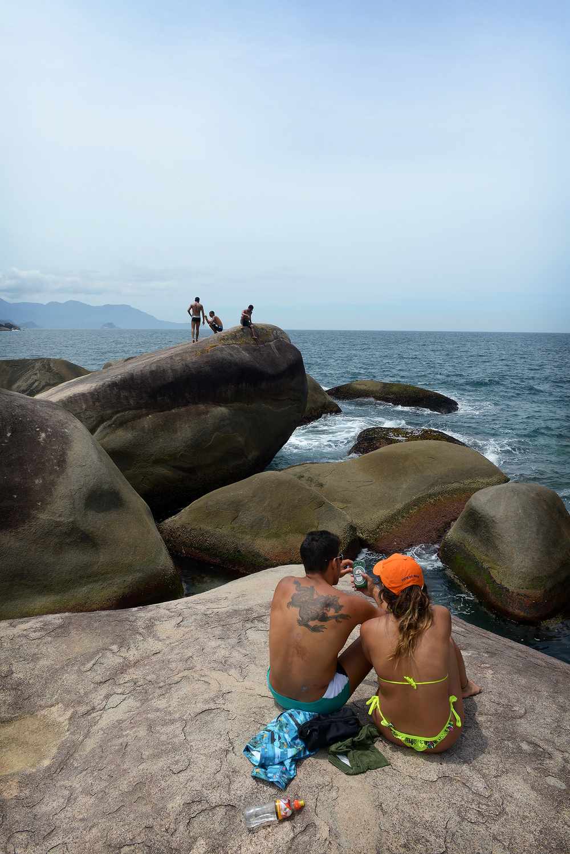 Brasilia, Rio de Janeiro, matkablogi, meri, matka