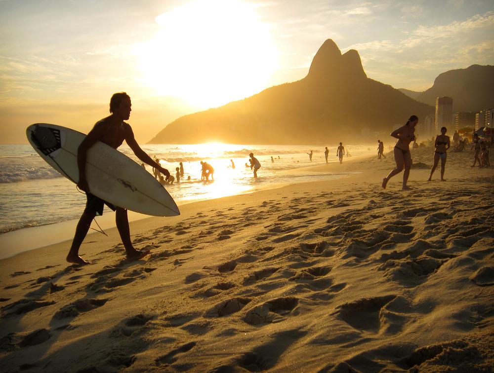 Rio de Janeiro, Brasilia, Ipanema, matka, matkablogi