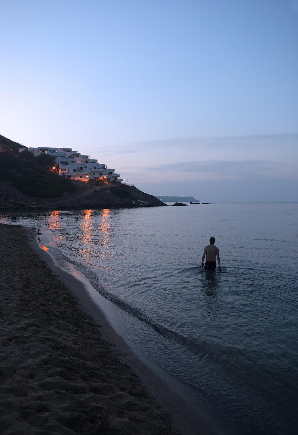 Välimeri, meri, Menorca, Baleaarit, matkablogi, matka