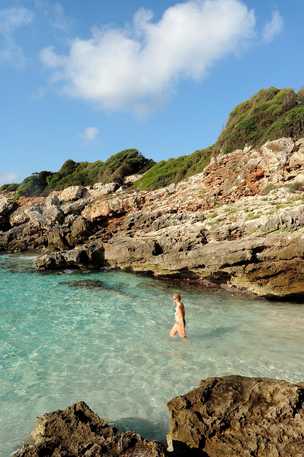 Menorca, Välimeri, matkablogi, meri, matka, Espanja