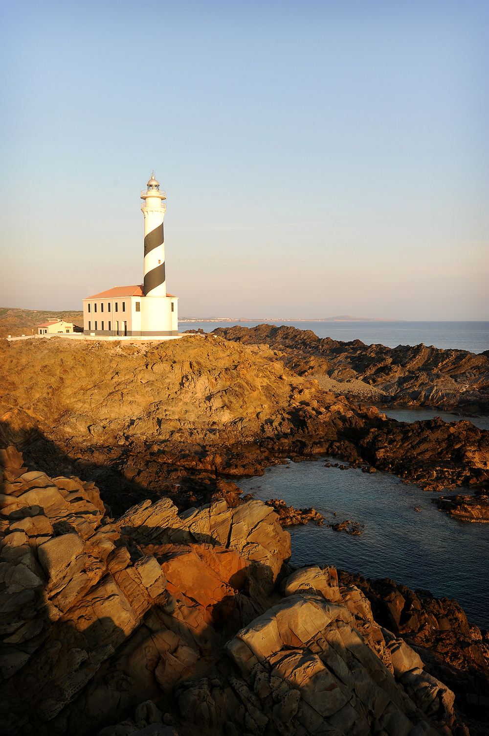 Matka, matkablogi, Espanja, Menorca, majakka, aamu, kesä
