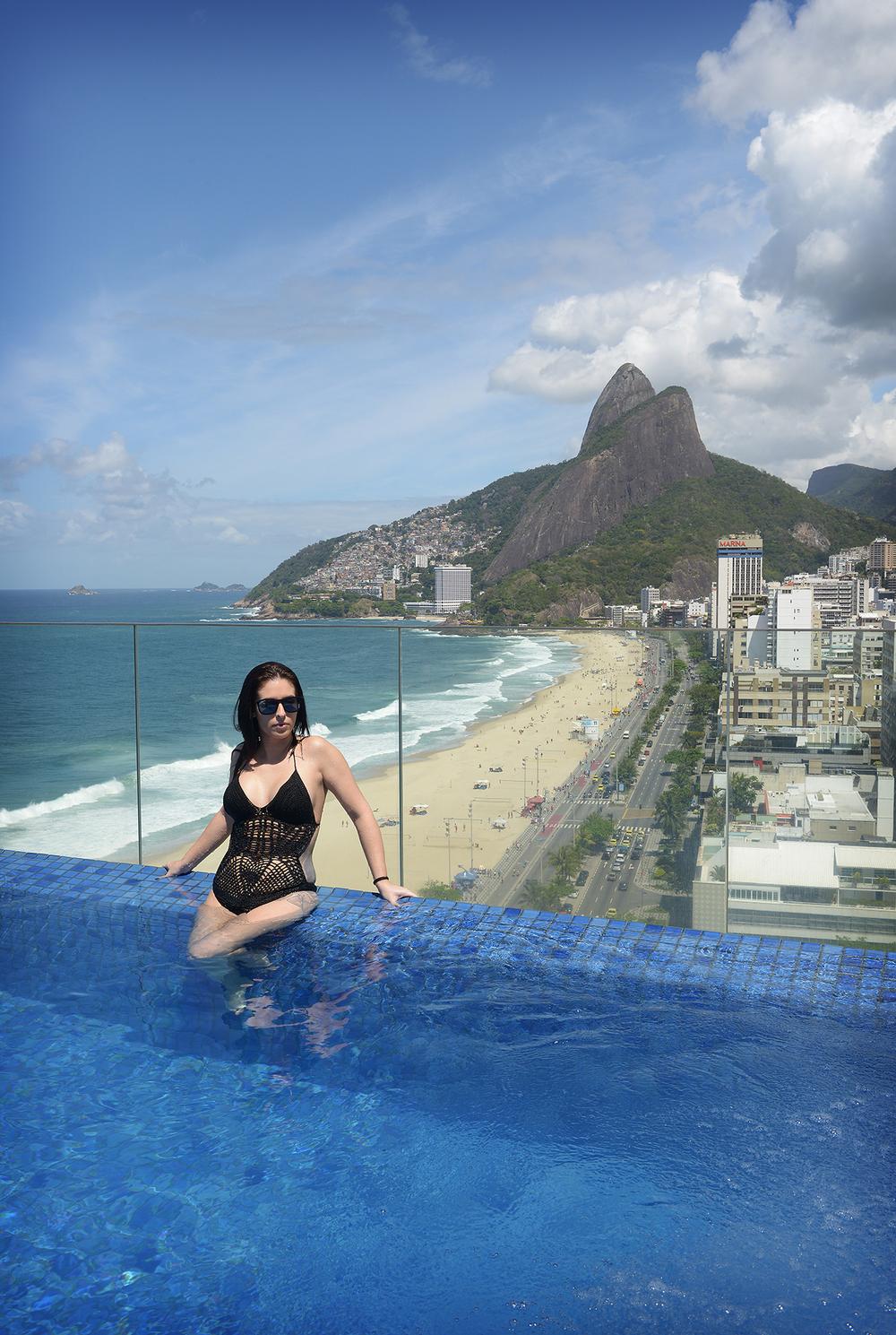 Rio de Janeiro, olympialaiset, uima-allas, maisemat, matkablogi, matka, ranta, Ipanema