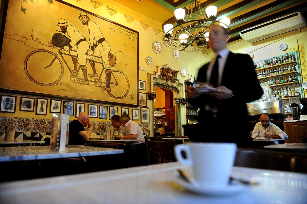 Kahvila, Barcelona, kahvi, matka, matkablogi, ravintola