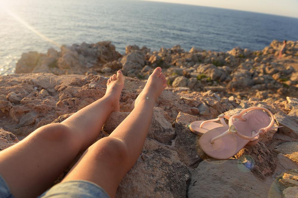 Lomavarpaat, meri, auringonlasku, matkablogi, matka