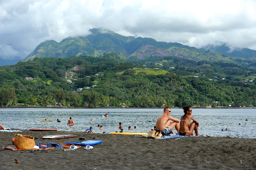 Saari, ranta, Tyyni Valtameri, matka, kaukomatka, matkablogi, paratiisi