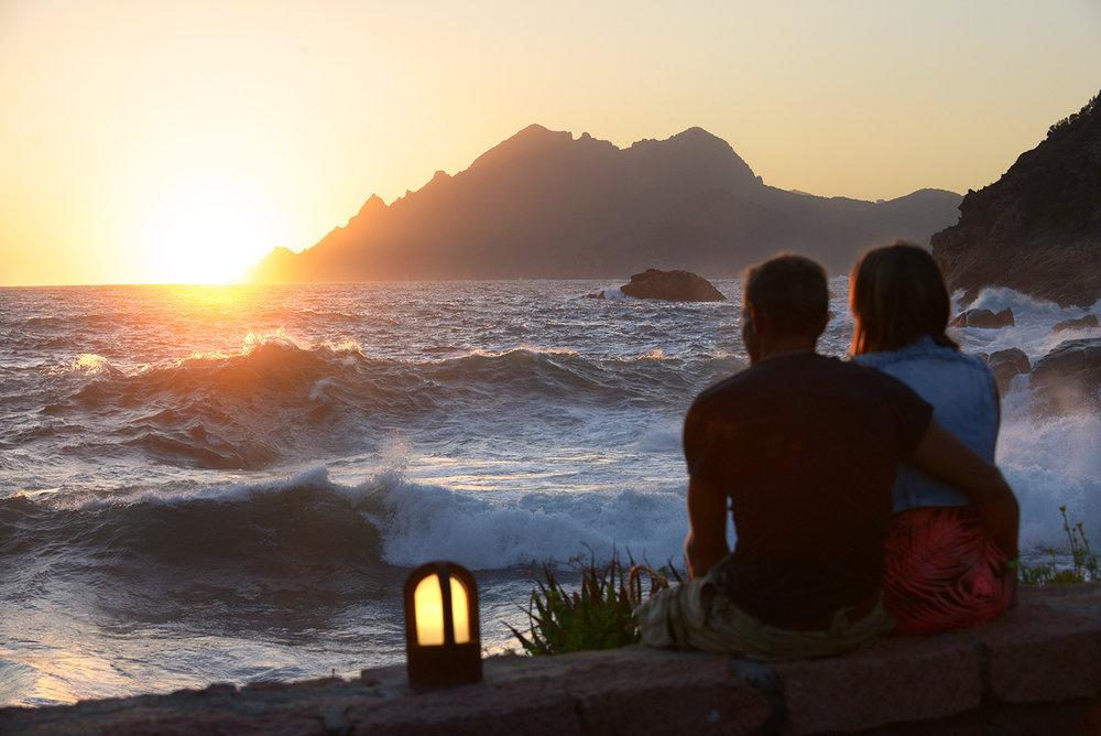 Auringonlasku, parisuhde, matkakumppani, matka, matkablogi, kesä
