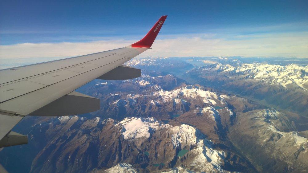 matka, matkablogi, lentokone, kaukolento, yölento, lentäminen