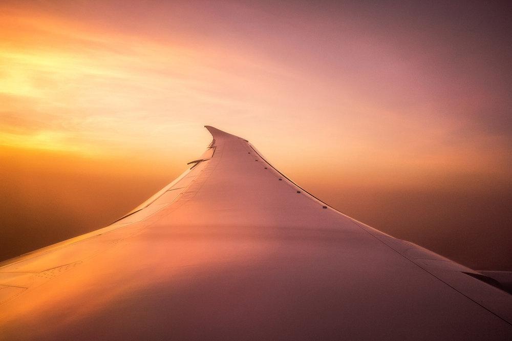 mat, matkablogi, lento, lentäminen, lentokone, yölento, kaukolento