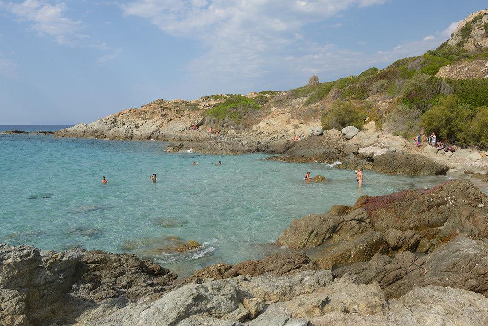 matka, matkablogi, matkailu, lomamatka, loma, Korsika, Välimeri, Ranska, meri, uimaranta, lomastressi, matkastressi