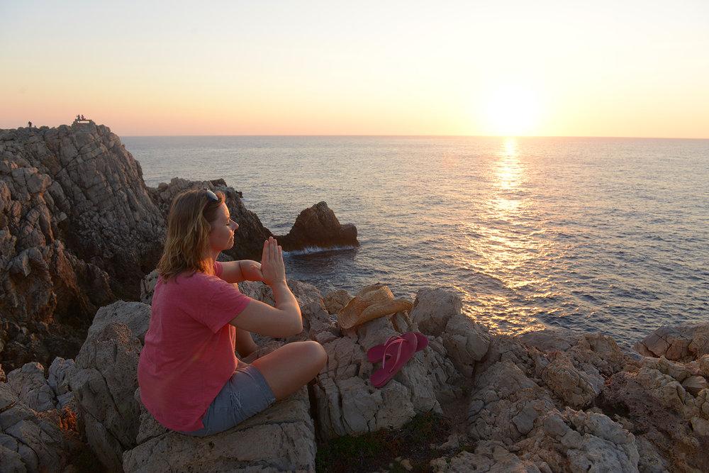 matka, matkailu, matkablogi, loma, lomamatka, matkastressi, lomastressi, Menorca, Välimeri, mielenrauha