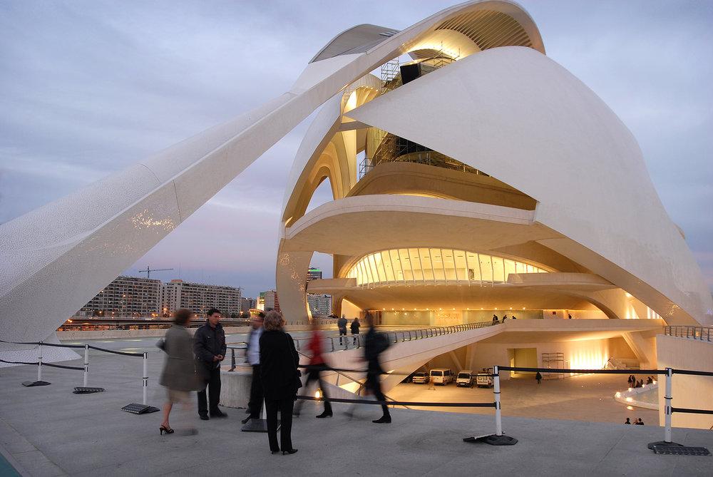 matka, matkablogi, Valencia, Espanja, matkailu, vero, kateus, moderni arkkitehtuuri, palau de les arts reina sofia