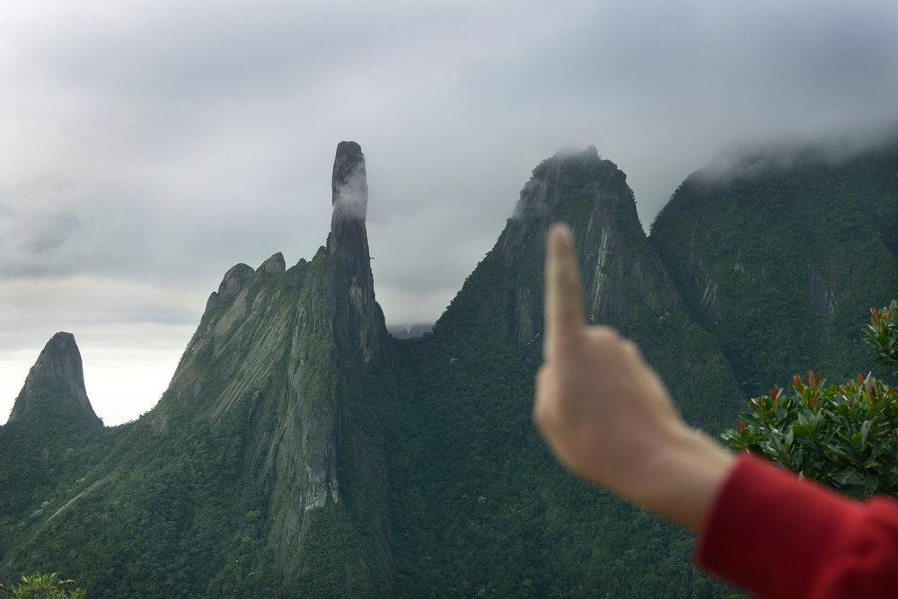 Matkablogi, huono nähtävyys, matka, Brasilia, Dedo de Deus, turisti