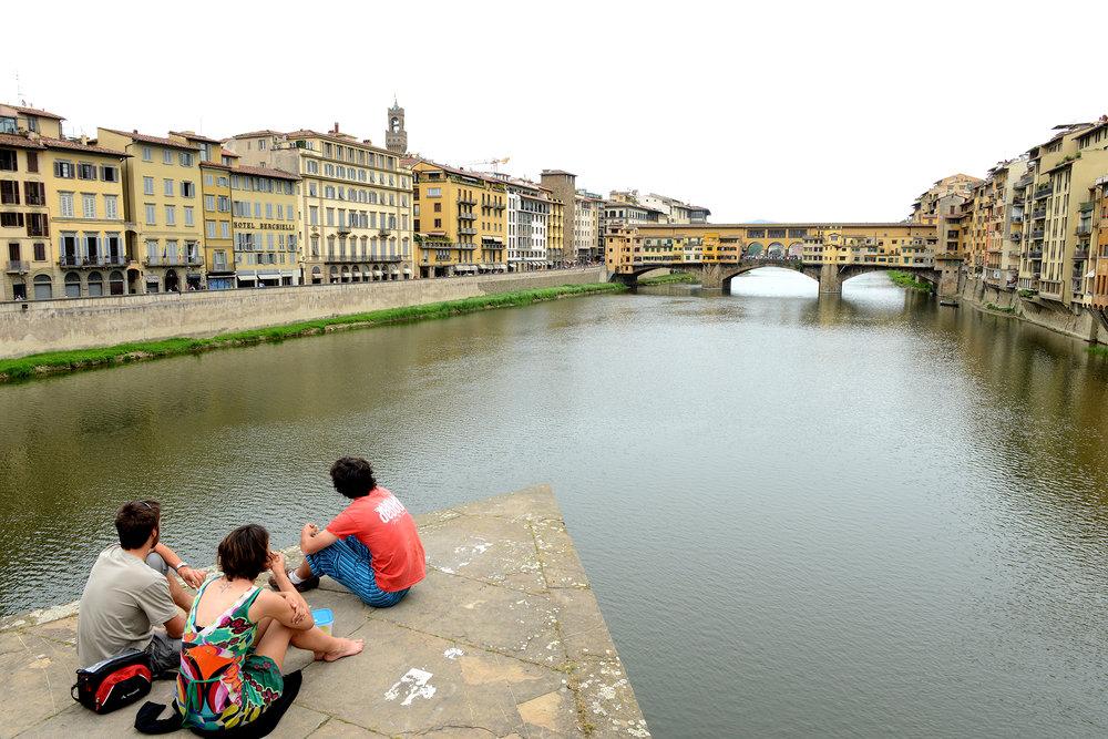 Turismi, turisti, matka, matkablogi, matka, Italia, Firenze, silta
