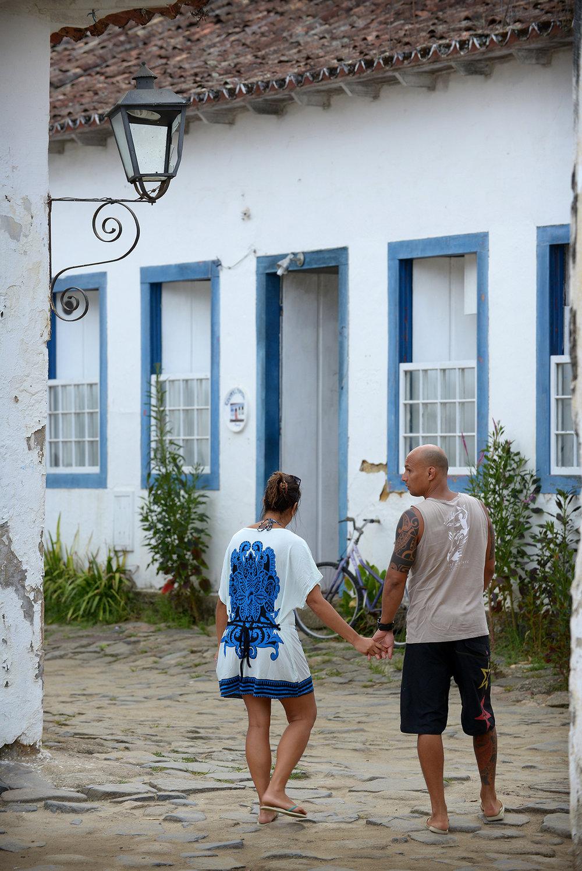 matkablogi, blogi, Brasilia, Paraty, värikäs, pariskunta