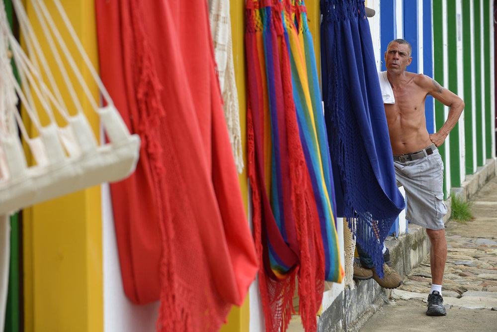 matkablogi, blogi, Brasilia, Paraty, värikäs, riippumatto