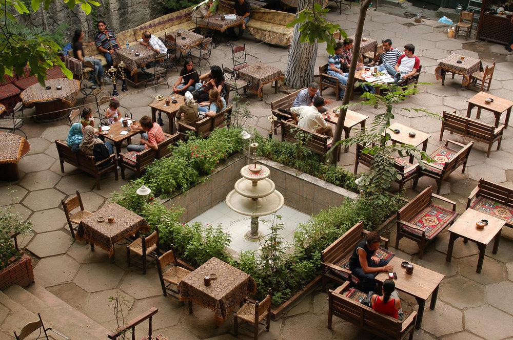 Turkki, Istanbul, matka, matkailu, matkablogi, kahvila