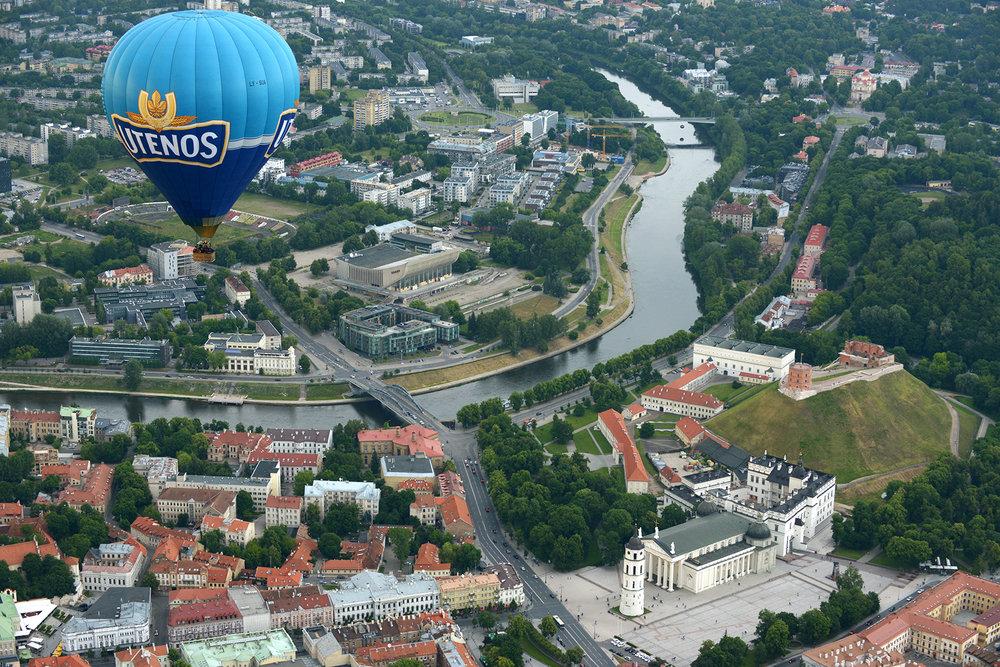Eurooppa, Vilna, Liettua, kuumailmapallo, matka, matkablogi, kesä