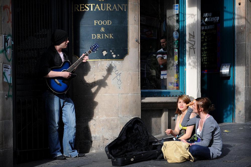 Edinburg, Skotlanti, festivaali, the Finge, matka, matkablogi