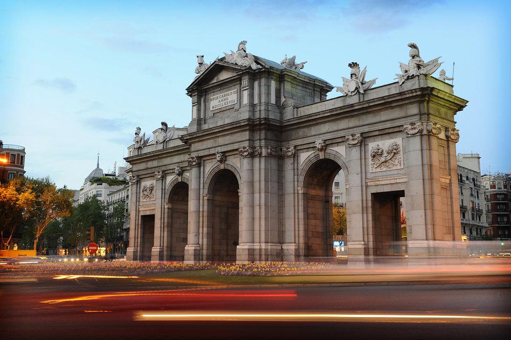 Madrid, Espanja, matka, matkablogi, ilta, kesä