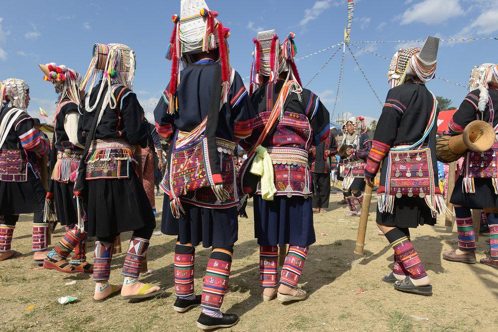Heimojuhlat, Kentung, Myanmar, Burma, matka, matkablogi, tanssi, perinnetanssi