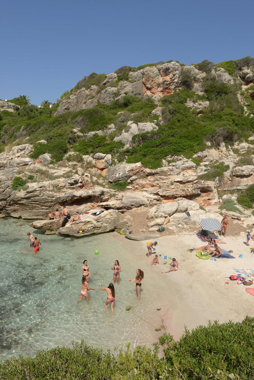 Menorca, Baleaarit, rannat, unelmaranta, matka, matkablogi