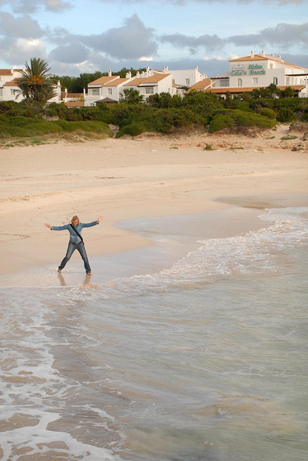 Menorca, ranta, talvi, Välimeri, matka, matkablogi, loma