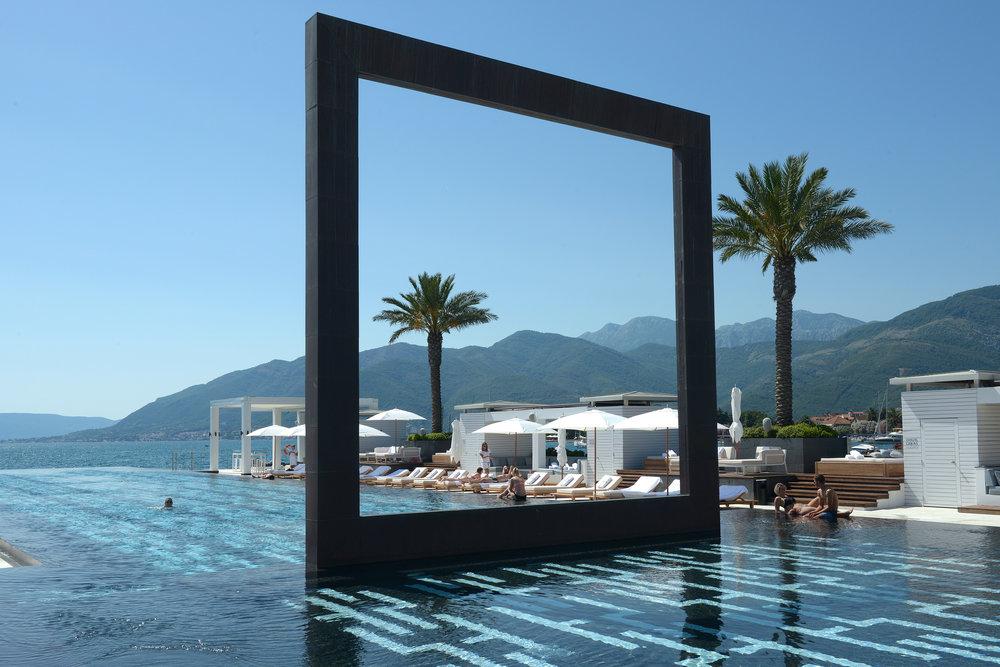 Kotor, Montenegro, uima-allas, Välimeri, matka, loma