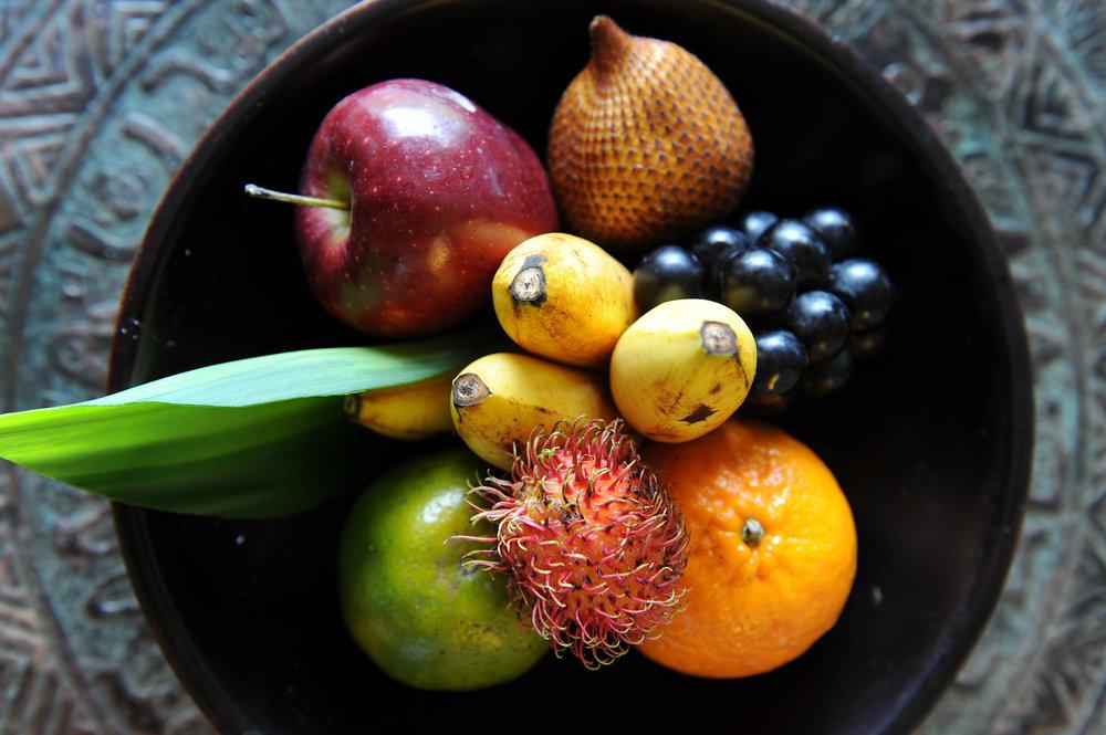 Maya Ubud, hotelli, Indonesia, Bali, hedelmät