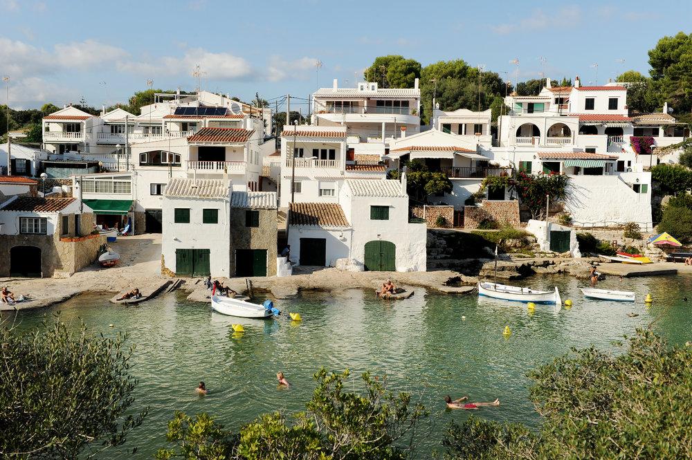 Menorca, uimassa