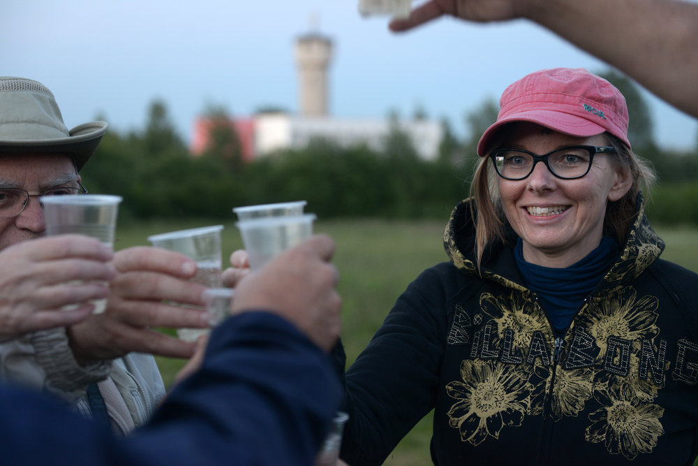 Vilna, Latvia, samppania, kuumailmapallo
