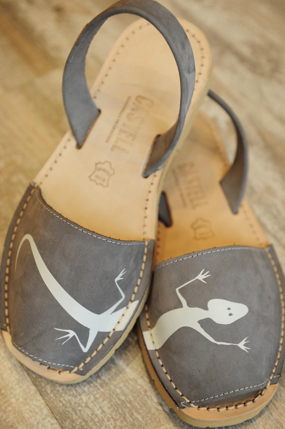 Avarca, Menorca, Espanja, kengät